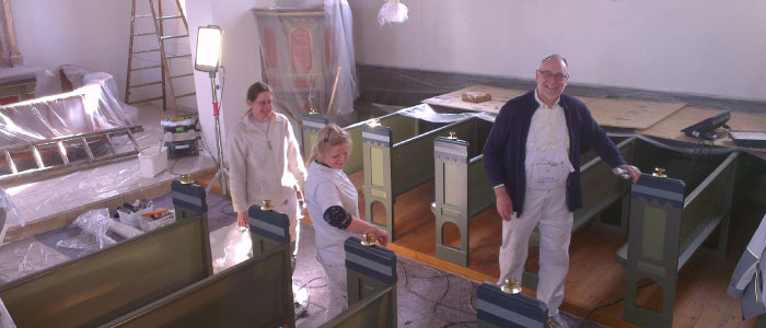 restaurering Ildved Kirke